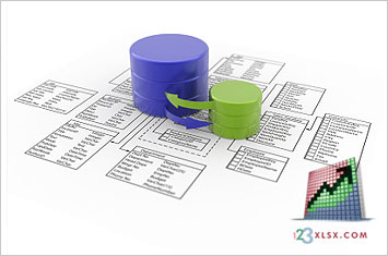 123XLSX provide database desing services to maximize and manage your data assets